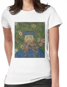 Vincent Van Gogh - Portrait of Joseph Roulin, 1889 Womens Fitted T-Shirt