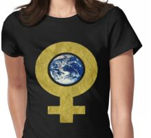womans world Womens Fitted T-Shirt