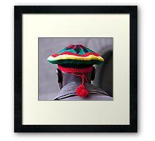 Knitted Tam Framed Print