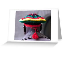 Knitted Tam Greeting Card