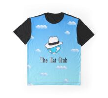 The Hat Club - Graphic T-Shirt w/o ground Graphic T-Shirt