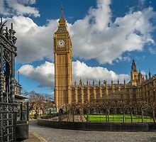 Big Ben London by Adrian Evans