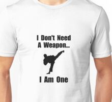 Martial Arts Weapon Unisex T-Shirt