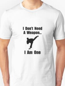 Martial Arts Weapon T-Shirt
