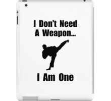 Martial Arts Weapon iPad Case/Skin
