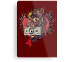 Red Panty Night - Conor McGregor (maroon) Metal Print