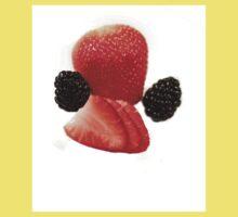 Strawberry Blackberry Baby Tee
