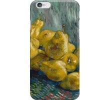 Vincent Van Gogh - Still Life with Quinces, 1888 - 1889 Impressionism iPhone Case/Skin