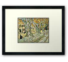 Vincent Van Gogh - The Road Menders, 1889 Framed Print