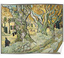 Vincent Van Gogh - The Road Menders, 1889 Poster