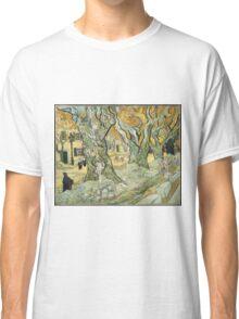 Vincent Van Gogh - The Road Menders, 1889 Classic T-Shirt