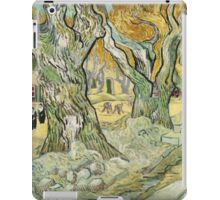 Vincent Van Gogh - The Road Menders, 1889 iPad Case/Skin