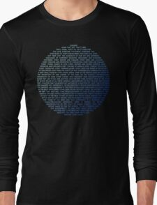 Pale Blue Dot - Carl Sagan Long Sleeve T-Shirt