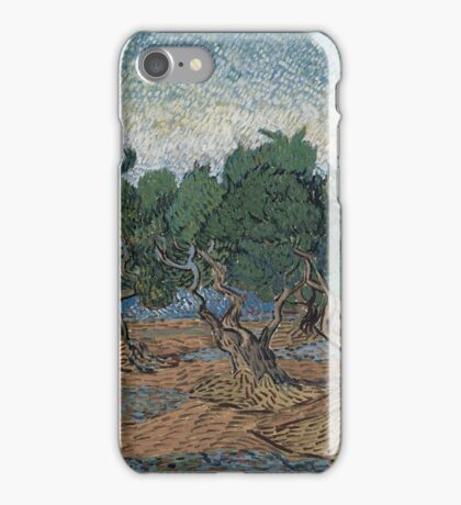 Vincent Van Gogh - Olive grove, November 1889 - December 1889 iPhone Case/Skin