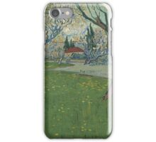 Vincent Van Gogh - Orchards in blossom, view of Arles iPhone Case/Skin