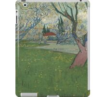 Vincent Van Gogh - Orchards in blossom, view of Arles iPad Case/Skin