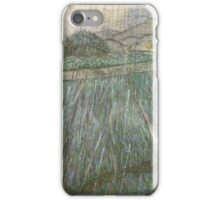 Vincent Van Gogh - Rain, 1889 iPhone Case/Skin