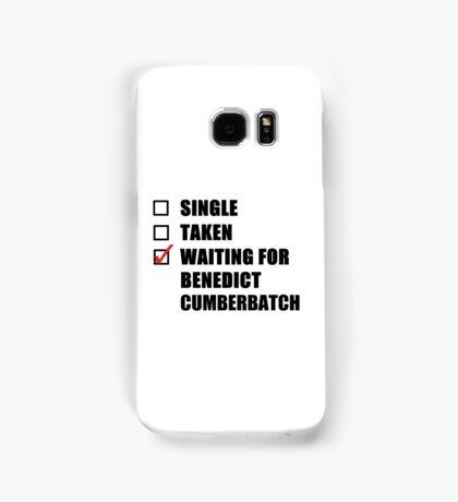 Waiting For Benedict Cumberbatch Samsung Galaxy Case/Skin