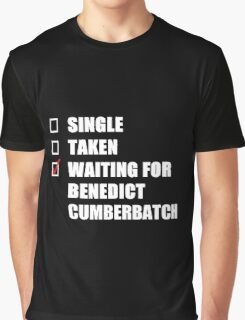 Waiting For Benedict Cumberbatch Graphic T-Shirt