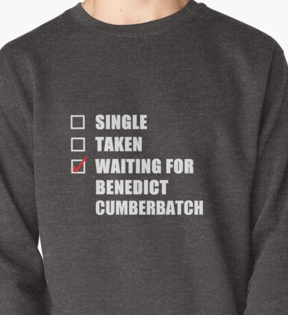 Waiting For Benedict Cumberbatch Pullover