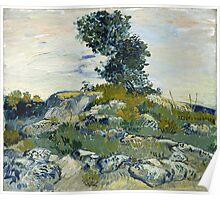 Vincent Van Gogh - The Rocks, 1888 Poster