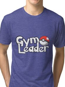 Pokemon Gym Leader Tri-blend T-Shirt