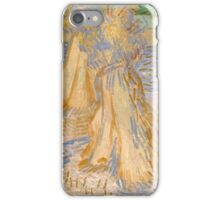 Vincent Van Gogh - Sheaves of Wheat, July 1890 landscape ,Impressionism iPhone Case/Skin