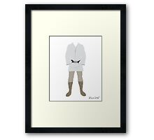 Like My Father Before Me.. Framed Print