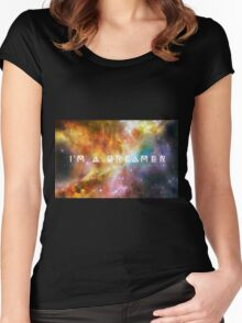 I'm a Dreamer Women's Fitted Scoop T-Shirt