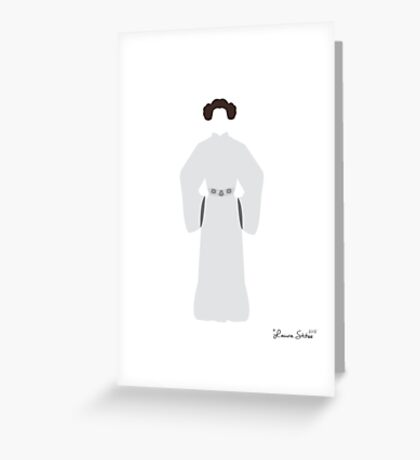 Don't Mess with a Princess Greeting Card