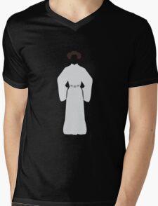 Don't Mess with a Princess Mens V-Neck T-Shirt