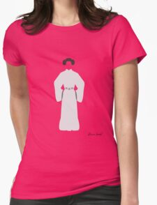 Don't Mess with a Princess Womens Fitted T-Shirt