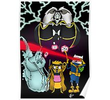 Uncanny Adventure Time Poster
