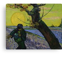 Vincent Van Gogh - The sower, June 1888 - 1888 Canvas Print