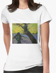 Vincent Van Gogh - The sower, June 1888 - 1888 Womens Fitted T-Shirt