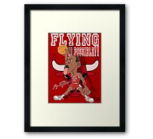 FLYING IS POSSIBLE!! Framed Print
