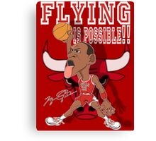 FLYING IS POSSIBLE!! Canvas Print