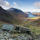 A view to die for from Warnscale Bothy Buttermere English Lake District by Martin Lawrence