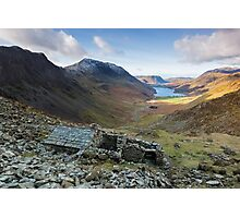 A view to die for from Warnscale Bothy Buttermere English Lake District Photographic Print