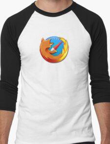 Safox - Safari Firefox Web Browser Men's Baseball ¾ T-Shirt