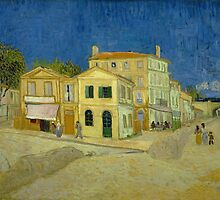 Vincent Van Gogh - The yellow house, September 1888 - 1888 by famousartworks