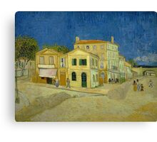 Vincent Van Gogh - The yellow house, September 1888 - 1888 Canvas Print