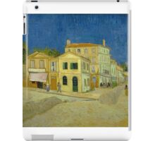 Vincent Van Gogh - The yellow house, September 1888 - 1888 iPad Case/Skin