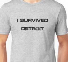 I survived Detroit Unisex T-Shirt