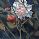 study of a rose in the back garden by resonanteye