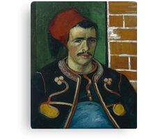 Vincent Van Gogh - The Zouave, June 1888 - 1888 Canvas Print