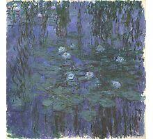 Claude Monet - Blue Water Lilies (1916 - 1919) Photographic Print