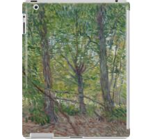 Vincent Van Gogh - Trees, July 1887 iPad Case/Skin