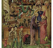 The Magical Menagerie Fantastic Pet Shop by MikeDubischArt