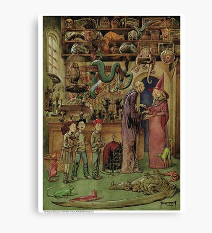 The Magical Menagerie Fantastic Pet Shop Canvas Print